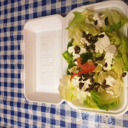 9 kabai saláta