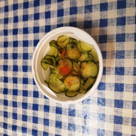 9 uborka saláta